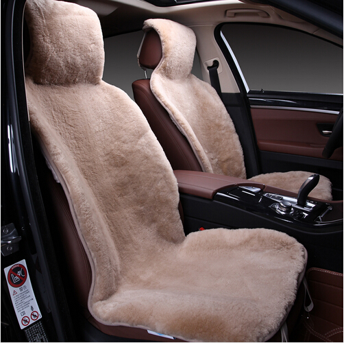 A universal size natural sheepskin fur capes on the car seat cover of Australian 100%  sheepskin Combo Kit for car priora  C078