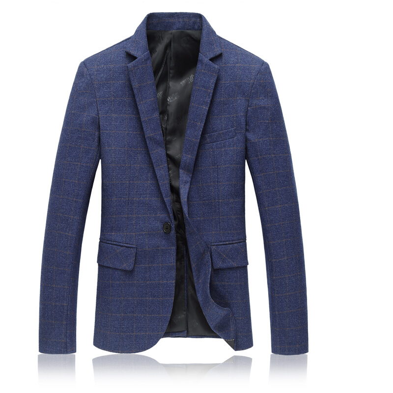 New Men s high quality Solid lattice Suit Jackets Business Casual Wedding Party Dresses Formal wear