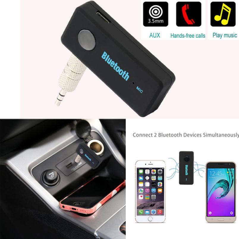 2017 Nueva Moda Bluetooth Wireless 3.5mm AUX Audio Estéreo de Música hogar del c