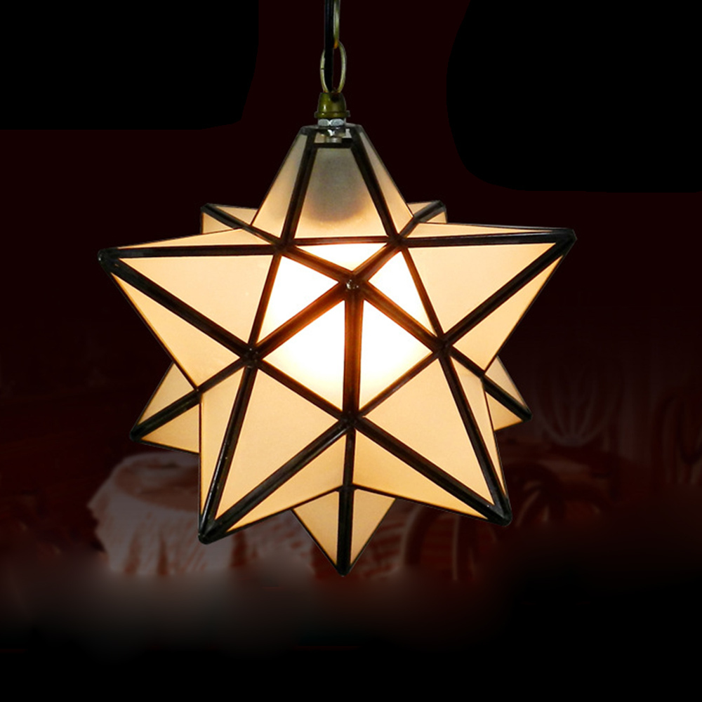 Cute star brief glass pendant lamp art decors bar aisle pendant cute star brief glass pendant lamp art decors bar aisle pendant light warm lighting nordic rh loft 30cm dia droplight in pendant lights from lights mozeypictures Gallery