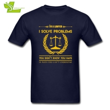 """I am a Lawyer I Solve Problems…"" T-shirt"
