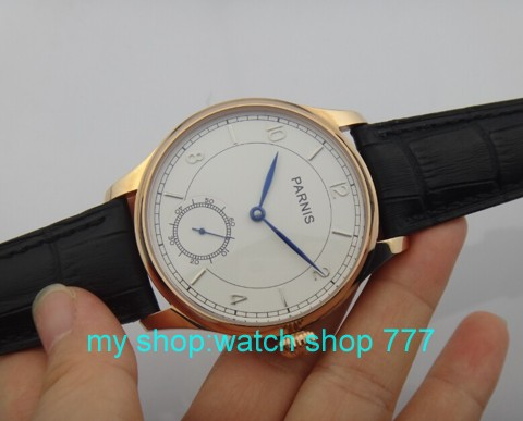 44mm PARNIS ST3621/6498 Mechanical Hand Wind movement PVD watchcase Mechanical watches men's watches oo1 кастрюля с крышкой metrot вилладжо