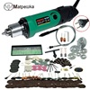 Dremel Style 220V Mini Electric Drill Engraver With 6 Position Variable Speed ForDremel Rotary Tools With