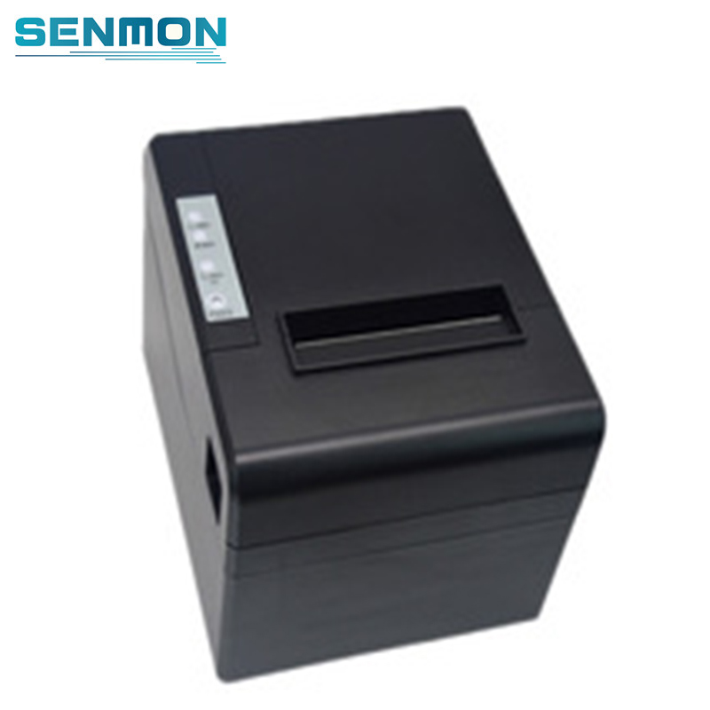 Auto Cutter 80mm Thermal Printer Receipt Small Ticket Barcode Printer POS Printer for POS Cash register Machine|Printers| |  - title=
