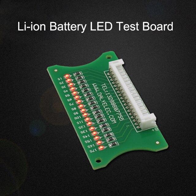 3 S-17 S Lithium Li-Ion Pin LED Ban Kiểm Tra Ban Bảo Vệ Cáp hệ thống dây điện 10 S 36 V 13 S 48 V 16 S 60 V BMS Nối Dòng phát hiện
