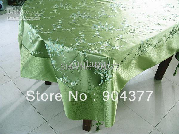 Aliexpress.com : Buy Gorgeous Green Damask Tablecloth Tassel Chinese Style  Boutique Rectangle Party Table Covers Size L 2 X W 1.5 M 1pcs Free From  Reliable ...