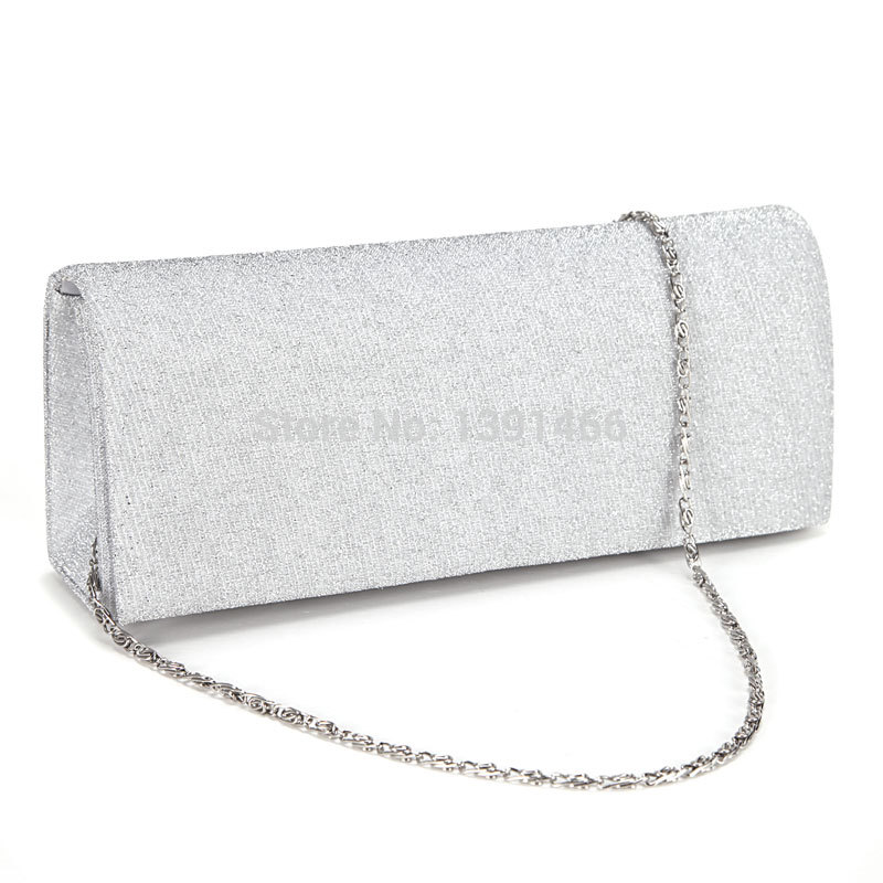 Dazzling Glitter Tone Fine Lines Women Clutch Hand Carry Bag Prom ...