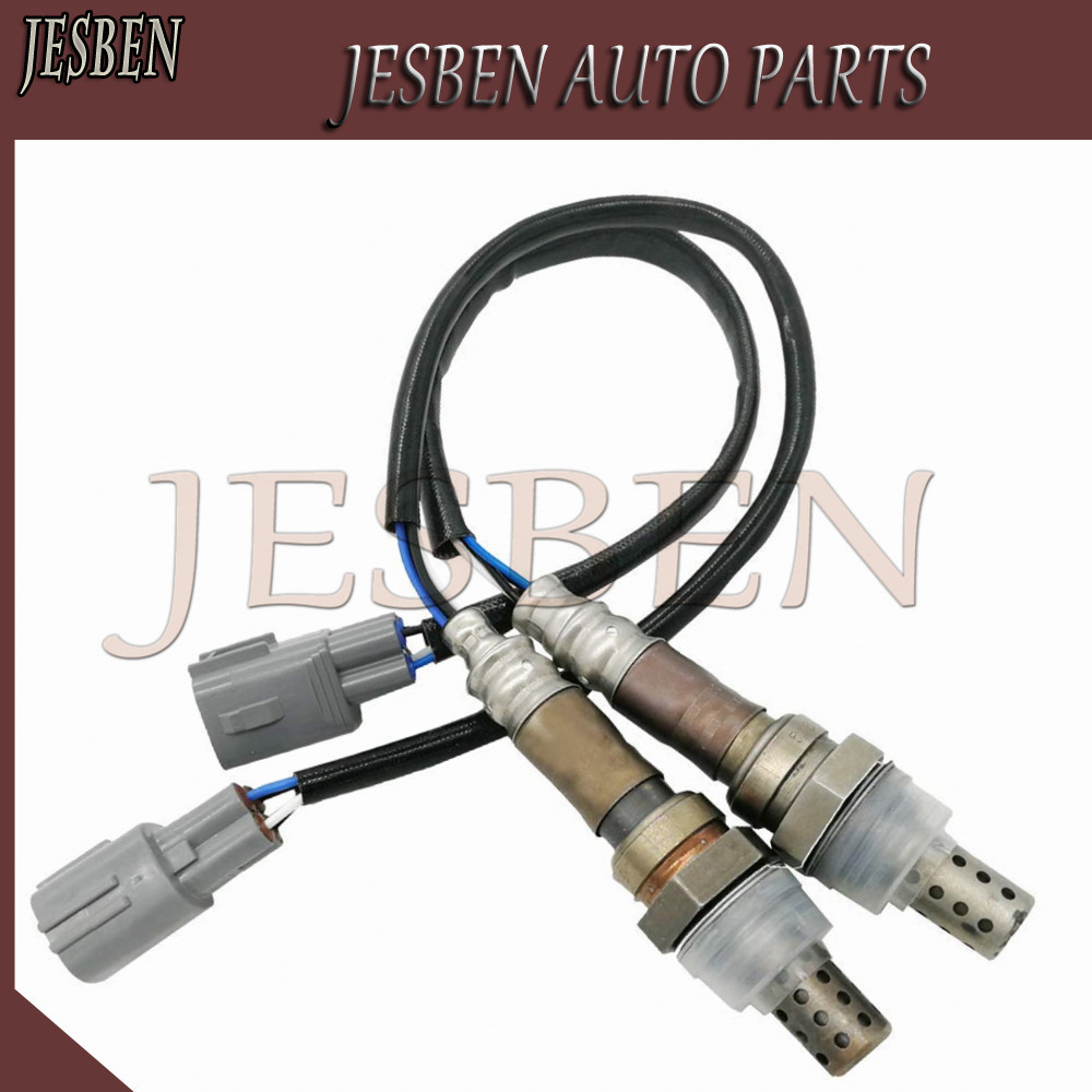 JESBEN 2 piezas 89465-53080 y 89465-53060 O2 Sensor de oxígeno para 1998-2005 Toyota Altezza Gita SXE10 2.0L 8946553060, 8946553080