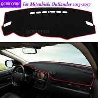 For Mitsubishi Outlander 2013 2017 Dashboard Mat Protective Interior Photophobism Pad Shade Cushion Car Styling Auto