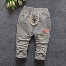 Nowe zimowe spodnie dla niemowląt bawełniane wysokiej jakości spodnie dla dzieci kreskówki dla dzieci 0-2 lat spodnie dla niemowląt tanie tanio Pełnej długości Na co dzień puenamer Pasuje prawda na wymiar weź swój normalny rozmiar Dziecko dziewczyny PHL1692