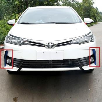 אוטומטי גריל רכב כרום דקורטיבי שונה רכב סטיילינג אביזרי קישוט אבזר 14 15 16 17 עבור טויוטה קורולה