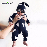 Christmas Baby Rompers Ropa Bebe Cotton Newborn Babies Infantial 0 18M Baby Girls Boy Clothes Jumpsuit