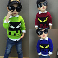 Hot sale Devil Sweaters Kids Hedging high Quality Boys And Girls Sweater knitted 1-9 years Children'S Sweater, Boys' Sweaters