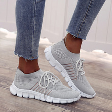 COZULMA Women Sneakers 2019 New Summer Autumn Woman Flats Soft Bottom Air Mesh Breathable Plus Size 35-43