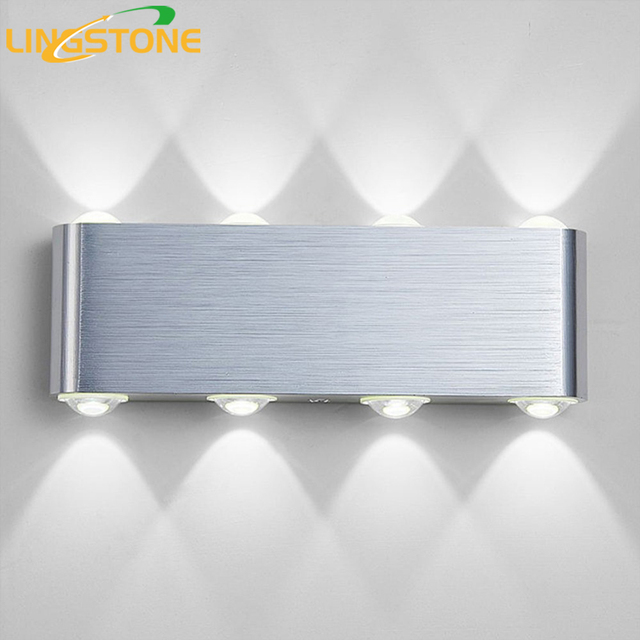 Modern Wall Lamp Bedroom Bathroom Led Wall Light For Home Lighting Up Down Wall  Sconce Lighting