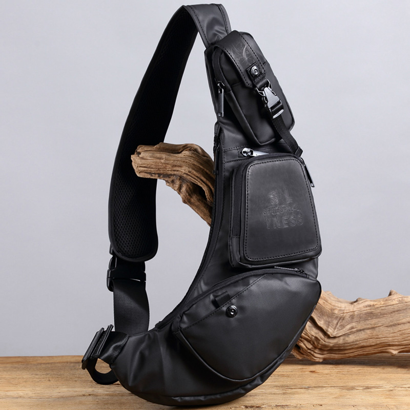 High Quality Men Nylon Cross Body Messenger Shoulder Bags Male Half Moon Travel Assualt Multi-purpose Sling Chest Day PackHigh Quality Men Nylon Cross Body Messenger Shoulder Bags Male Half Moon Travel Assualt Multi-purpose Sling Chest Day Pack