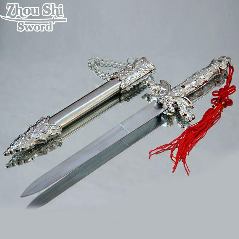 Hauptdekorationen Hawk Schön Geschnitzten Geschenke Kleines Schwert Cosplay Requisiten Edelstahl Klingen Exquisite geschenk