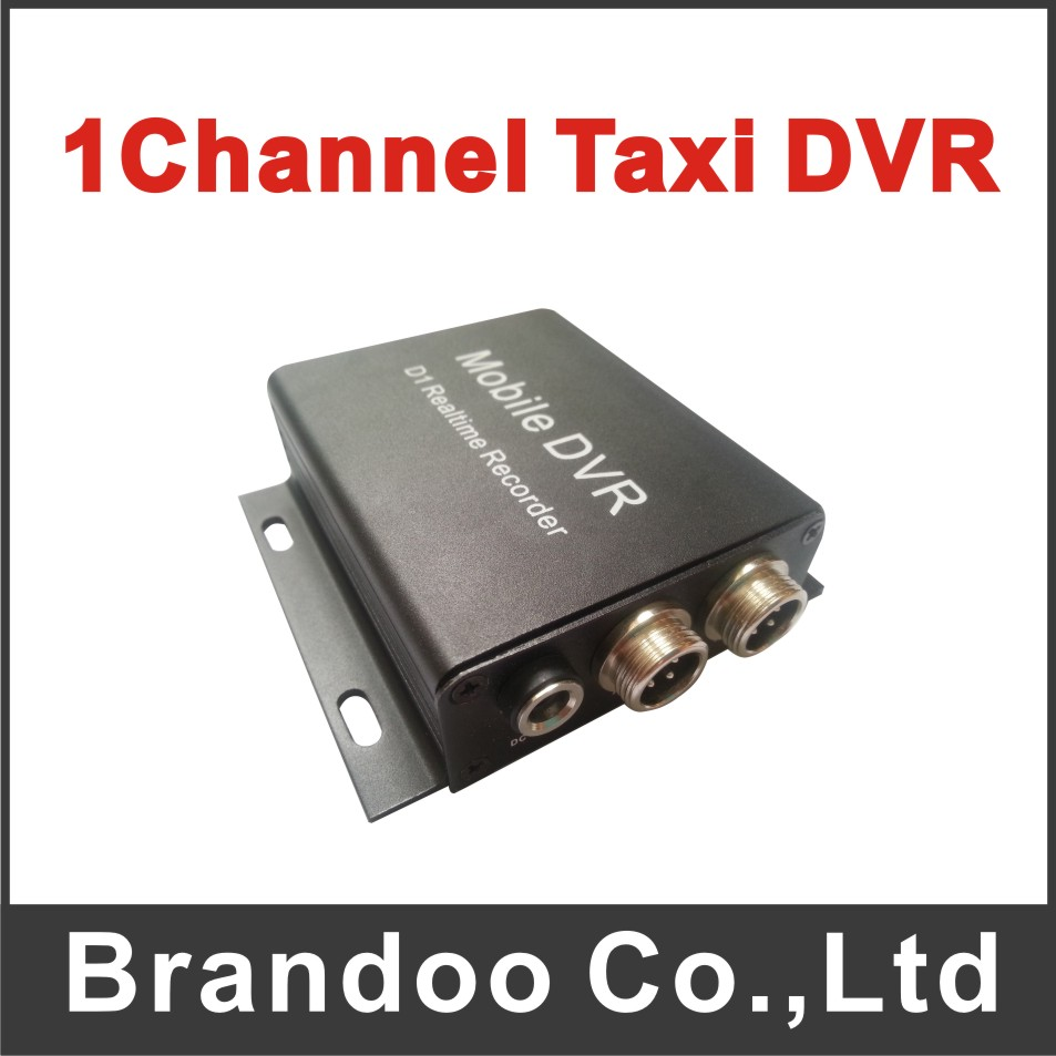 MPEG-4 Cheap 1CH Car DVR Mobile DVR SD Card DVR for Used