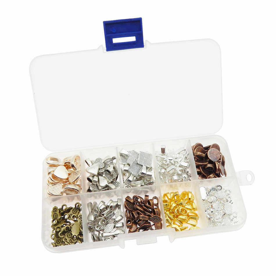 10 tipos de cuchara de estilo DIY pegamento ovalado en las bolas pequeño colgante joyas de fianza bolas para fabricación de colgantes azulejos de vidrio de cabujón