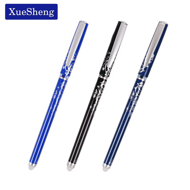 3 PCS/lot Stationery 47200 Unisex Pen Erasable Pen Unisex 0.5 Pen