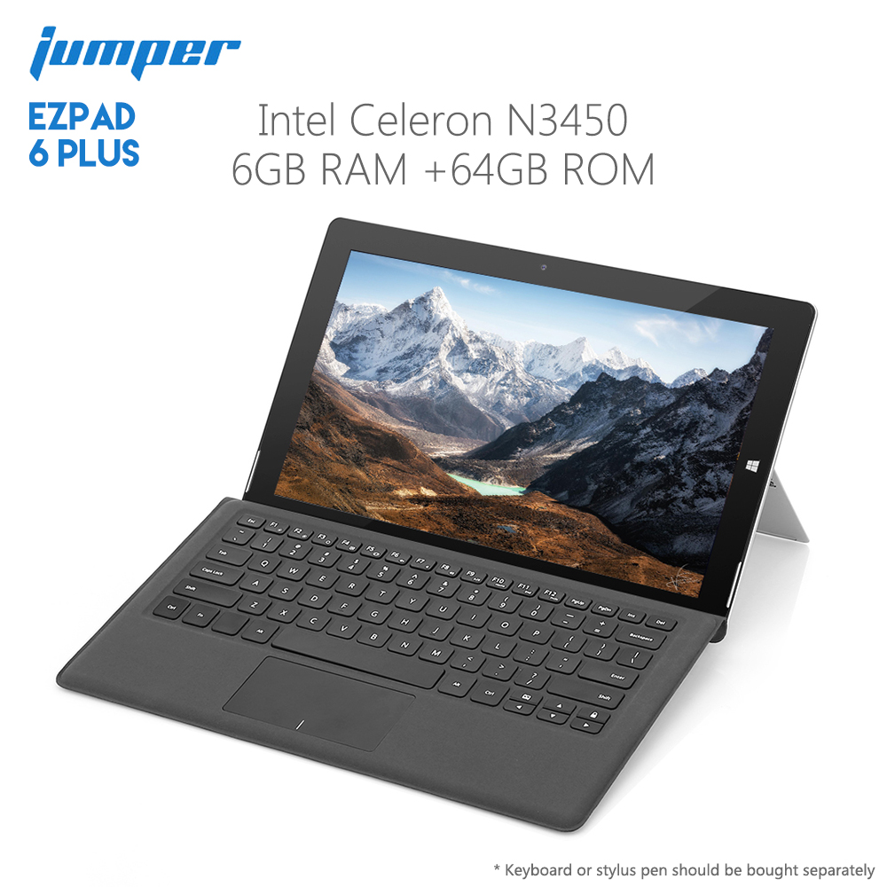 Original Jumper EZpad 6 Plus Tablet PC Windows 10 Intel Celeron N3450 6GB RAM 64GB ROM HDMI 11 6 дюйма стыковочный интерфейс магнитной клавиатуры для ezpad 6 plus