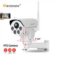 Einnov 1080P 2MP PTZ IP Camera Wireless Wifi 4X Zoom 6mm CCTV IR Night Vision Outdoor Security Audio Video Surveillance Nanny