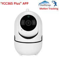 1080P Full HD Cloud Storage SD Card Auto Motion Tracking Smart Home Security Wireless WIFI CCTV IP Camera YCC365 Plus APP