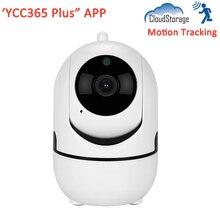 лучшая цена 1080P Full HD Cloud Storage SD Card Auto Motion Tracking Smart Home Security Wireless WIFI CCTV IP Camera YCC365 Plus APP