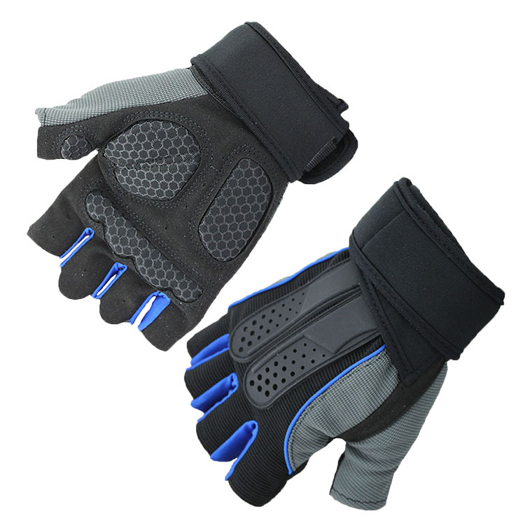 Weight lifting Cycling Gym Bike Outdoor Fishing Half finger Sports Gloves Ladies