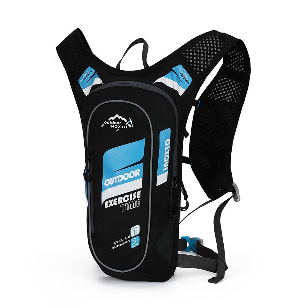 Waterproof Bicycle Backpack 5L Men's Women MTB Mountain Bike Water Bag Nylon Cycling Hiking Camping Running Backpack