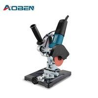 AOBEN Universal Angle Grinder Bracket Stand Support Wood Stone Metal Cutting Machine Frame Angle Grinder Holder Special Bracket