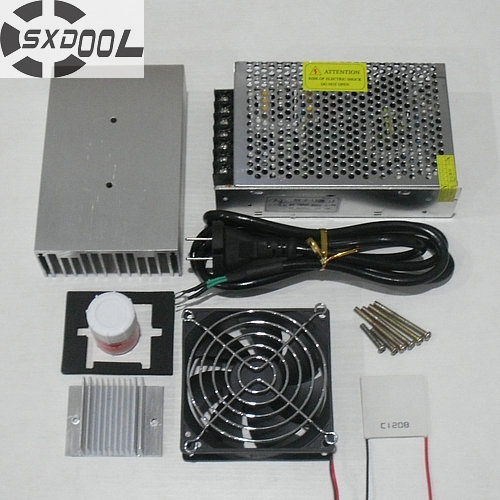 SXDOOL Cooling!Cooling system DIY Pro refrigeration system kit heatsink Peltier cooler TEC1-12706 1pcs water cooling block 50x50x12mm 1pcs cooler peltier tec1 12706