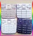 Preto / branco / cinza / dourado New Original habitação Menu principal teclados teclados botões caso capa para o Nokia E52 frete grátis