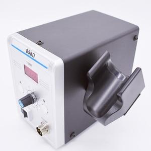 Image 4 - 700W 858D ESD 납땜 역 LED 디지털 BGA 재 작업 솔더 스테이션 뜨거운 공기 총 + 60W 전기 철 도구 세트