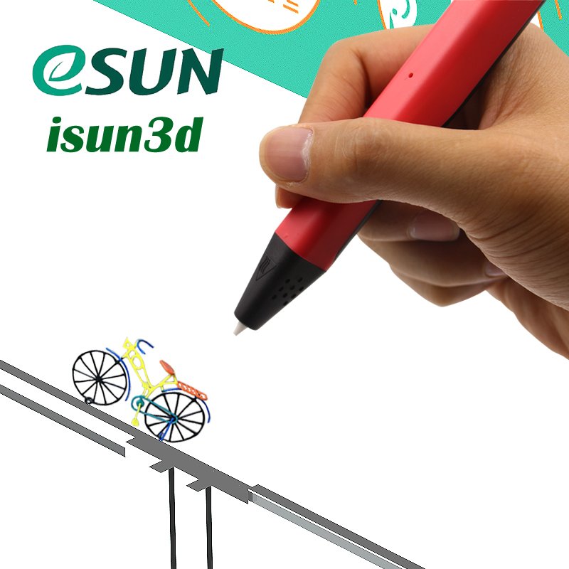 3D printer pen esun Newest LTP4.0 3D Printing Pen Free PCL Filament Low Temperature Protection for Kid Gift Toy USB 3d Pens christmas gifts fast epacket dewang newest 3d pen wiht usb cable low temperature free 9m abs pla child gift for imagination
