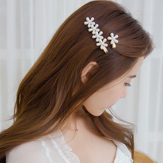 Купить заколка для волос chimera с цветочным жемчугом утконосом 2 шт/компл