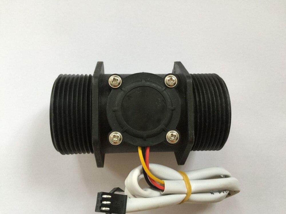 1.5 DN40 2 ~ 200L/min eau en plastique Hall Turbine capteur de débit industrie mètre