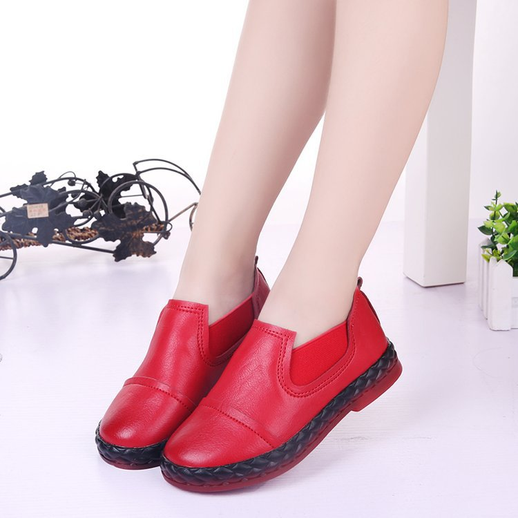 AFDSW spring and autumn leather casual red sport shoes black school shoe boys brown, running shoes kids princess girls shoes