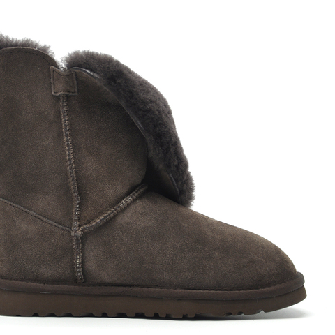 Free Shipping New Arrival 100% Real Fur Classic Mujer Botas Waterproof Genuine Cowhide Leather Snow Boots Winter Shoes for Women Multan