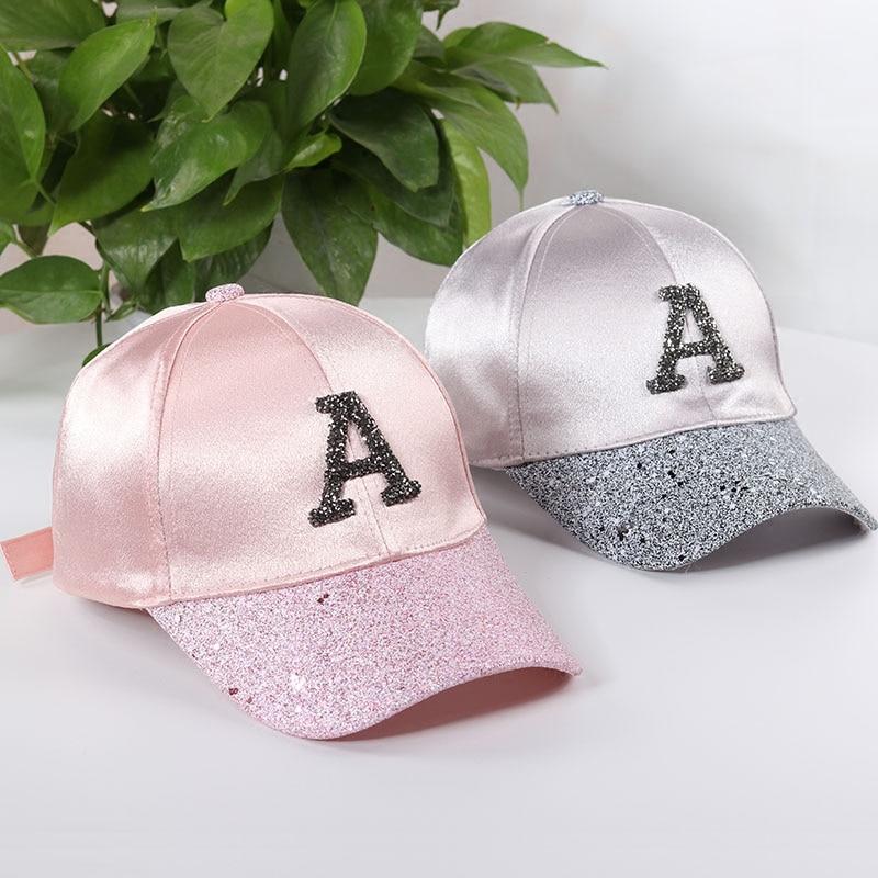 Bling Hüte für Frauen 2018 Sommer einstellbare Hüte mit Glitter - Bekleidungszubehör
