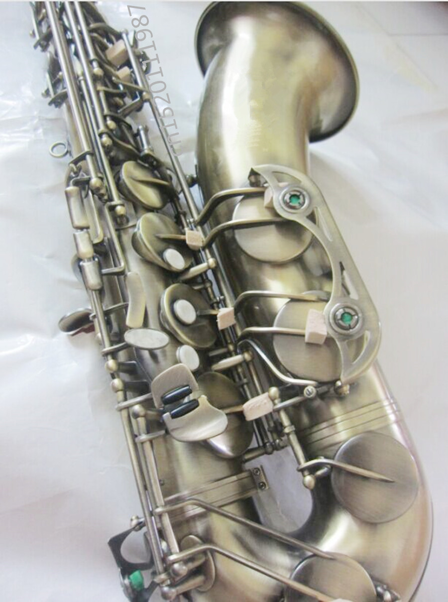 tenor saxophone instrument B flat saxophone tenor antique copper free shipping sound quality Promotions SAX tenor saxophone 2018 hot selling high grade sts r54 bb tenor sax black saxophone golden perfect quality free shipping