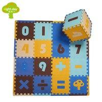 PE Espanso Stuoia AnimalsCrawling Play Mat For Kids, i bambini Si Arrampicano Ambientale Stuoia Di Puzzle Kindergarten Schiuma Tappeto 16 pz/set 30x30 cm