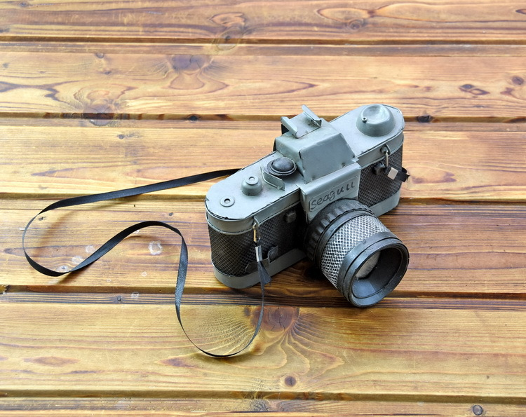Vintage Camera Model Decoration Gifts Showcase Mould Photography Shopwindow Props Decor Stage Property Restore Retro Crafts in Figurines Miniatures from Home Garden