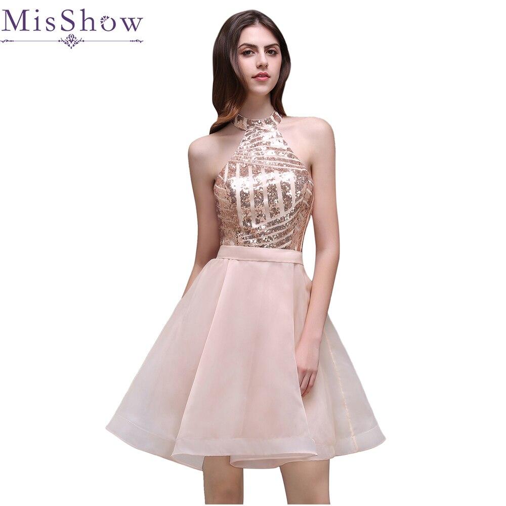 Discount Designer Dresses Cocktail: Aliexpress.com : Buy In Stock 2018 Elegant Cheap Sequins A