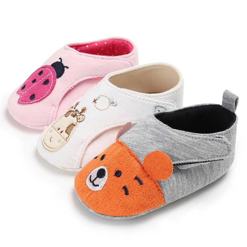 Multi-Style 2017 2.36 PU Cute Newborn Baby Casual Sandals&Clogs Princesses Shoes Infant First Kids Walker Summer Autumn Sandals