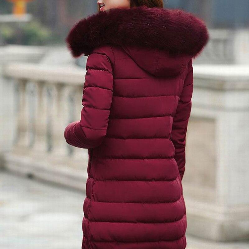 Vers vert Parkas 1 Pour Bas Hiver À Épais bleu Veste Capuchon red Noir D'hiver Manteaux Chaud 2017 red Femme Femmes Rembourré Le S 2 Manteau Vestes Et Coton De xCwFawvSq