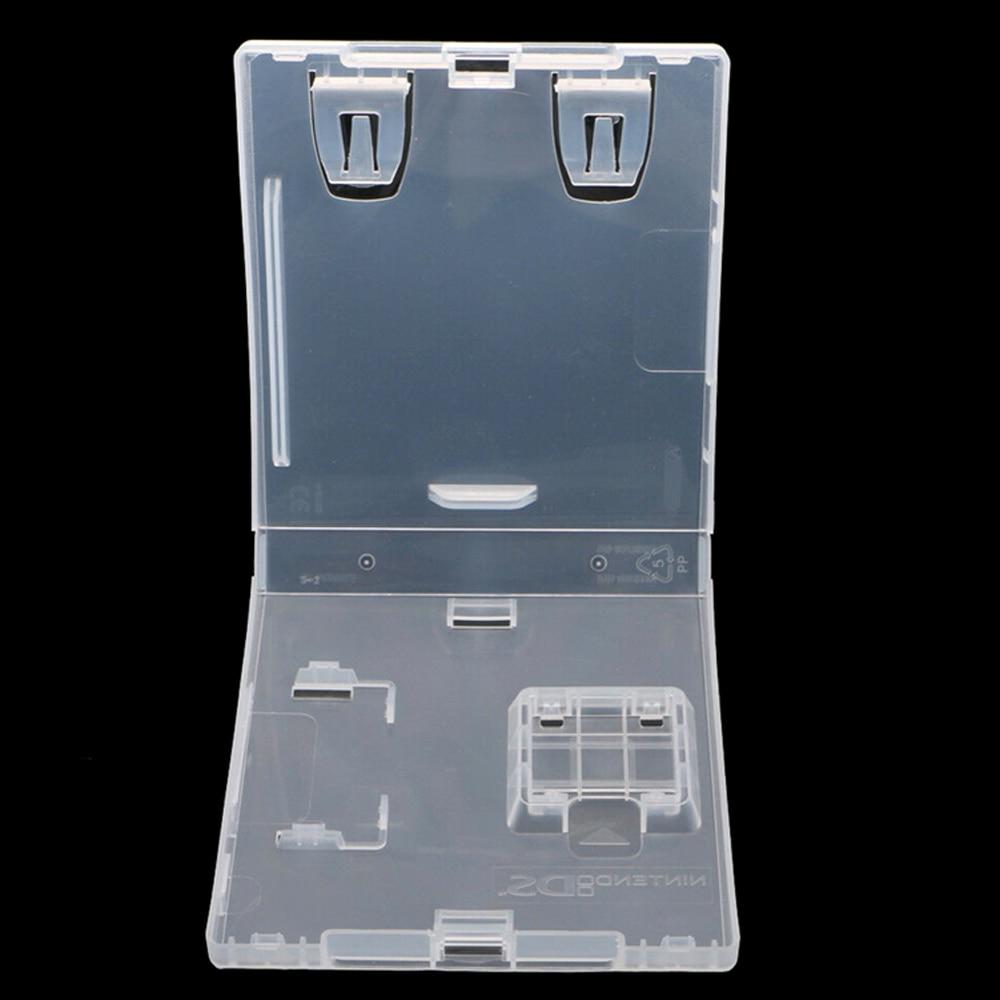 N-DS 카드 케이스 스토리지 케이스 교체 쉘에 대 한 N-D-SI 라이트에 대 한 10 pcs 게임 카드 카트리지 플라스틱 셸 보호 상자