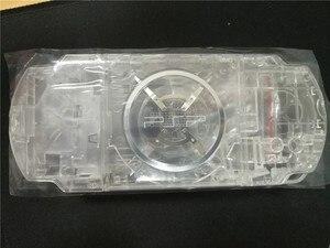 Image 4 - Şeffaf Şeffaf Renk PSP3000 PSP 1000 2000 3000 Kabuk Oyun Konsolu yedek tam konut kapak kılıf düğmeler kiti