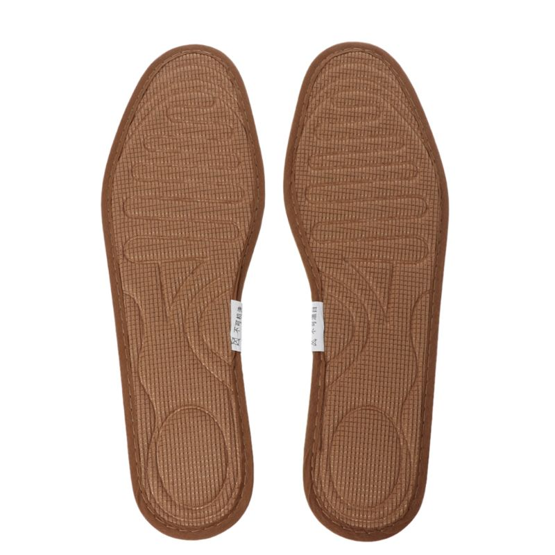 1 Pair Shoe Pads Deodorant Anti Bacterial Flattie Shoes Bamboo Carbon Breathable Sweat Absorb Insole Pain Relief Cushion To Help Digest Greasy Food