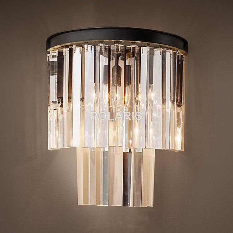 vintage k9 lustre cristal arandela lampada luz 02